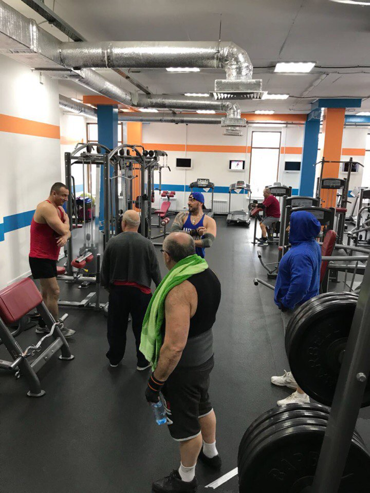 тренажерный зал фитнес клуб в Красногорске