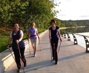 Скандинавская ходьба фитнес центр Красногорск